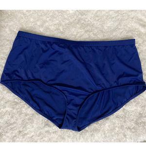 Maxine of Hollywood Blue Bikini Bottom - NEW - 24W